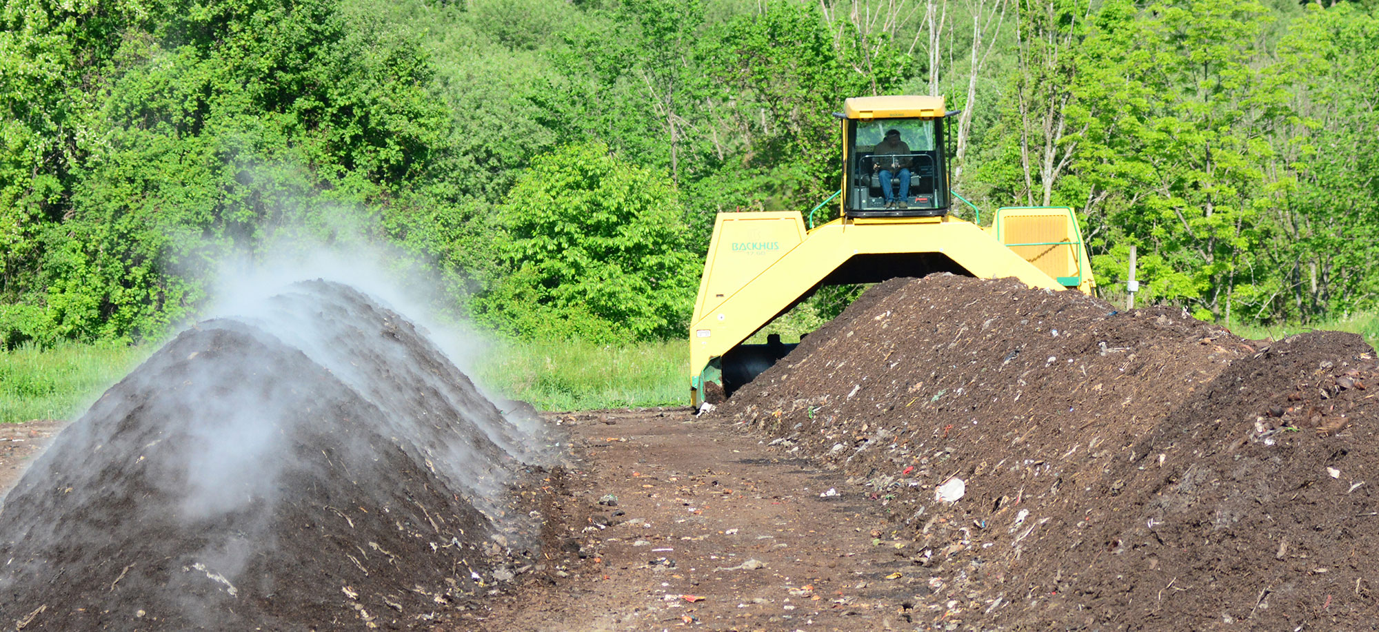 Composting Uses Microrganisms to Convert Organic Waste into Soil Nutrients
