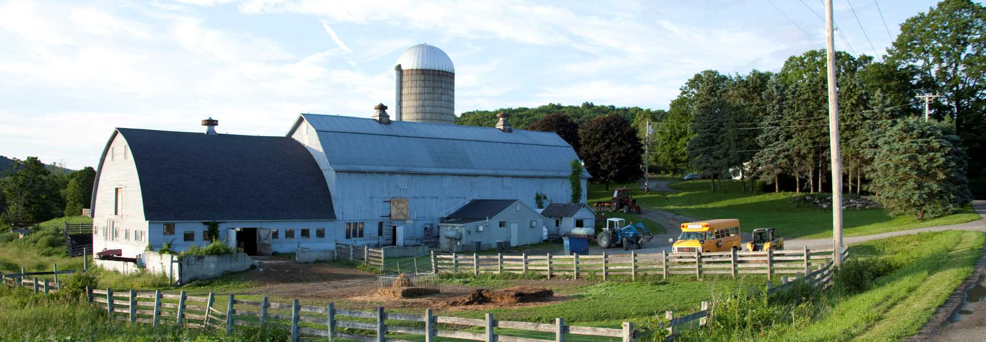 One of Our Livestock Barns