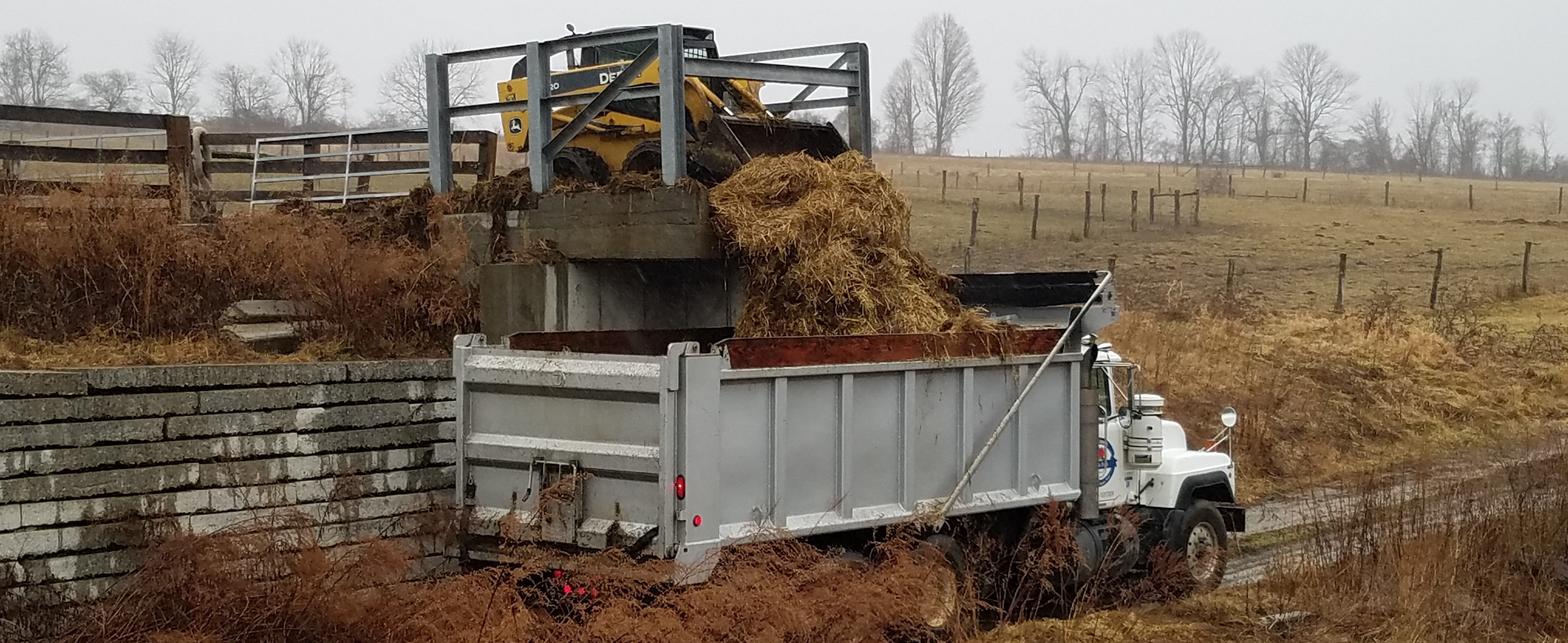 Circular Operation: Our Cattle Bedding Goes into Our Compost